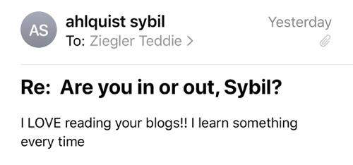 sybil ahlquist